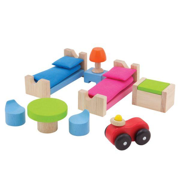 chambre d'enfant maison de poupée