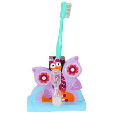 Porte brosse à dent bucolique