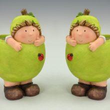cahe pot enfant pomme
