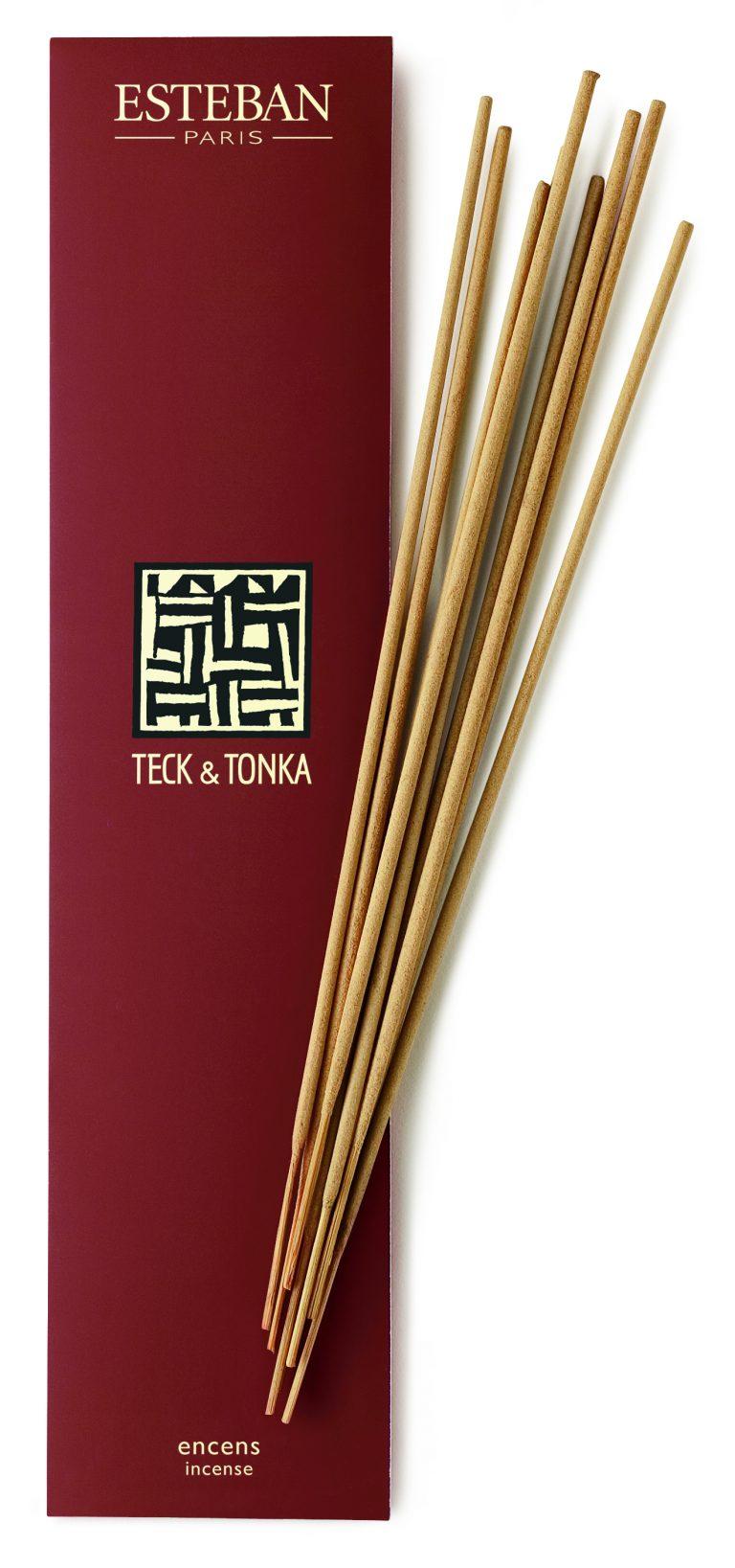 Encens Teck et Tonka