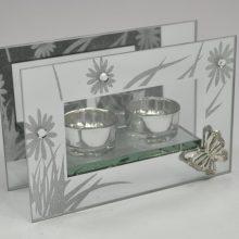 photophore double en verre