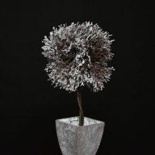 POt arbre neige FLORA