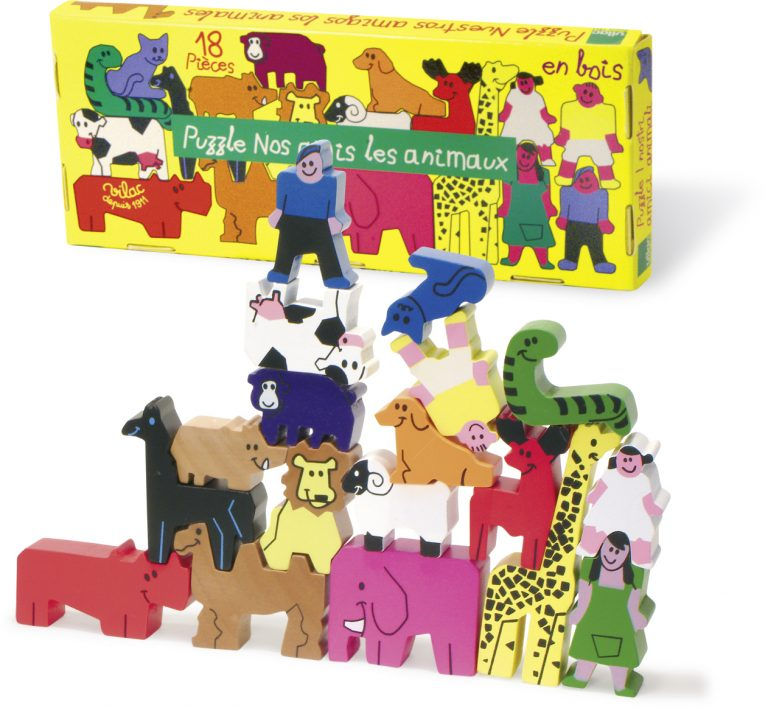 Puzzle nos amis les animaux