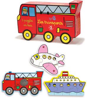 Puzzle les transport