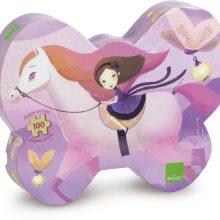 puzzle cheval et princesse