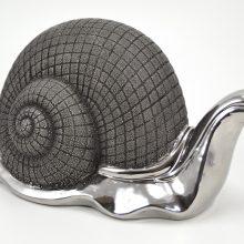 escargot-grand-modele-gris-et-gris-argent