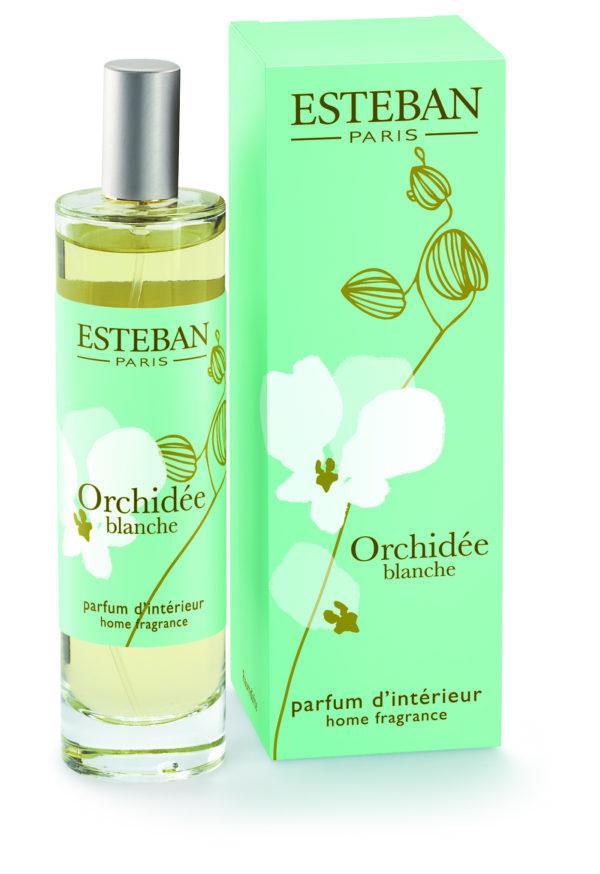 vaporisateur 100 ml orchidee blanche